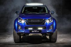 "Isuzu D-Max V-Cross ""Sapphire"" looks smashing: Super ""limited edition-pickup truck! Virtually every Isuzu D-Max V-Cross receiver is sold in a way or otherwise by buyers. Isuzu now began to arrive with a modified, modified D-Max V-Cros. Trucks For Sale, Pickup Trucks, Isuzu D-max, Birmingham, Isuzu Motors, Lazer Lights, Rodeo, Off Road Tires, Truck Tyres"