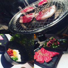 【ディナー♪】 最近行ったお店で1番のお気に入り♪ 肉が新鮮すぎて…… ご馳走様でした😎  #ディナー#肉#A5ランク#美味い#美味しい #広島#焼肉#TKG#ごちそうさまでした#PARCO##