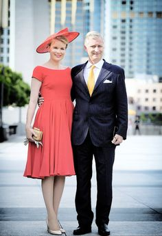 misshonoriaglossop:  Belgian State Visit to China, June 2015-King Philippe and Queen Mathilde