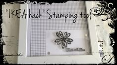 """I used the frame """"Hemmingsbo"""" from IKEA and turned it into a """"Misti inspired""""…"""