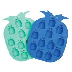 Pineapple Ice trays  $25 - Papier D'Amour.com