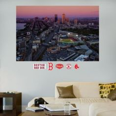 Fathead+Boston+Red+Sox+Fenway+Park+Mural+Wall+Decals