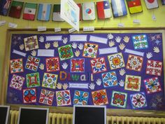 A bold and colourful Diwali display. A bold and colourful Diwali display. Indian Festival Of Lights, Indian Festivals, Festival Lights, Diwali Activities, Eyfs Activities, Diwali Celebration, Festival Celebration, School Displays, Classroom Displays