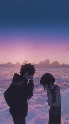 Get Latest Anime Wallpaper IPhone Scenery Colorful manga wallpaper Anime Backgrounds Wallpapers, Animes Wallpapers, Cute Wallpapers, Phone Wallpapers, Mitsuha And Taki, Kimi No Na Wa Wallpaper, Your Name Wallpaper, Your Name Anime, Anime Triste