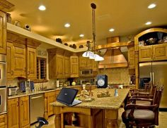 Amazing kitchen...