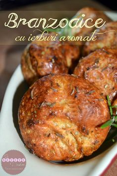 Branzoaice cu ierburi aromate - RETETE DUKAN Dukan Diet Recipes, Healthy Recipes, Cheese Muffins, Tandoori Chicken, Delish, Appetizers, Low Carb, Cooking, Breakfast