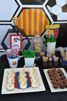 {FC Barcelona Party} by Partylicious