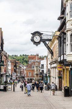 High Street, Winchester, England