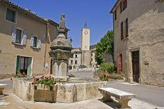 Fontaine de Mollans-sur-Ouvèze - Drome Provençale