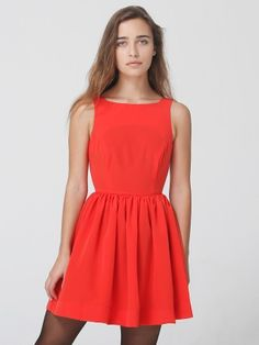 #AmericanApparel #PinATripWithAA  Remind me of a modest sexier Jessica Rabbit, adorable.