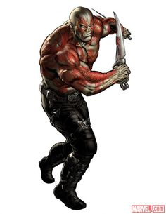 Gurdian Drax the Destroyer(alternate costume) Avengers Alliance Marvel Avengers Alliance, New Avengers, Marvel Vs, Marvel Heroes, Marvel Comics, Galaxy Comics, Cosmic Comics, Marvel Games, Drax The Destroyer