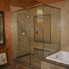 1000 Images About Frameless Showers On Pinterest