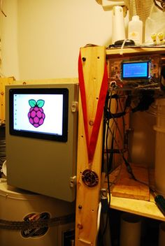 Brewbot V2.0 Three tier Raspberry Pi and Arduino controlled home brewery
