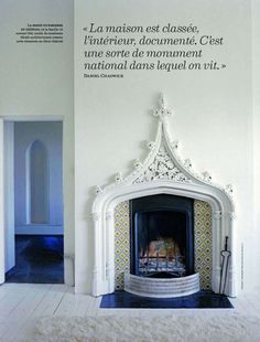 This fireplace.