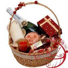 Valentines Relax Basket to Azerbaijan Fiji Islands, Canary Islands, Cook Islands, Virgin Islands, Flowers By Post, Order Flowers, Birthday Gifts For Girls, Mom Birthday Gift, Tanzania