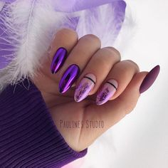 False nails have the advantage of offering a manicure worthy of the most advanced backstage and to hold longer than a simple nail polish. The problem is how to remove them without damaging your nails. Cute Acrylic Nails, Matte Nails, Hair And Nails, My Nails, Popular Nail Art, Sparkle Nails, Glam Nails, Stylish Nails, Nagel Gel