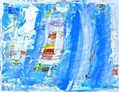 "Saatchi Art Artist Geoff Howard; Painting, ""Abstract Map 1"" #art"