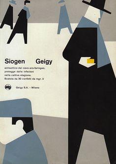Siogen Italian Ad Card, c.1958