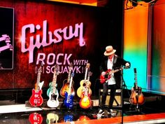 It's #AmericanMade Week on Squawk Box. This morning, the show rocked out with Gibson Guitar, which employs 1,200 people in Nashville, Memphis and Bozeman, Montana.