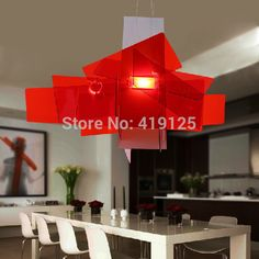 D65cm/95cm Modern Foscarini Big Bang Stacking Creative Modern Chandelier Lighting Art Pandant Lamp Ceiling LED 90-260V Replica