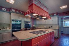 Double ovens and nice vent fan-1500 Dorchester Dr, Nichols Hills, OK 73120 | MLS #738695 - Zillow