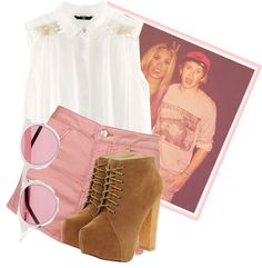 """""""Up all night"""" by marijoumg ❤ liked on Polyvore"""