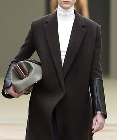 Celine ... obsessed (love the leather detailing)