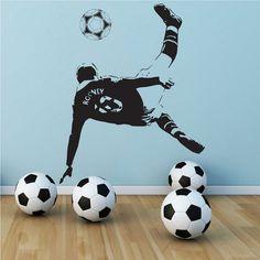 Wayne Rooney Manchester United Soccer Football Player Vinyl Wall Decal Art Sticker Decor Stencil on Etsy, $20.99