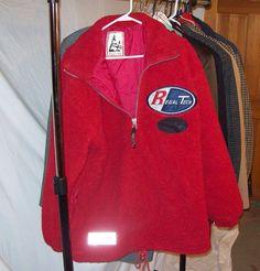 REGAL CLUB warm Sherpa pullover coat jacket zip up, hem cinch cord #REGALCLUB #BasicJacket