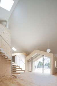 A house within a house within a house. Wooden House K Interior Design by Architect Yoshichika Takagi. Architecture Design, Japanese Architecture, Contemporary Architecture, Simple House Design, Minimalist House Design, Minimalist Home, Minimalist Interior, Minimalist Bedroom, Decoration Bedroom