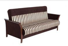 pohovka TOMAN hnědá / tmavý ořech Outdoor Sofa, Outdoor Furniture, Outdoor Decor, Couch, Home Decor, Settee, Decoration Home, Sofa, Room Decor