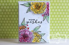 Ella's Cards: Craftie Cafe - Wedding Wishes (Video)