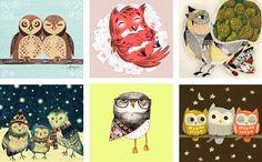 Free, printable 2013 owl calendar | How About Orange ( bird )  Vintage owl ephemera free printable image for a DIY paper craft project
