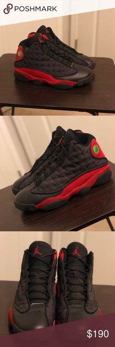 1326207b424b Shop Men s Jordan Black Red size 10 Athletic Shoes at a discounted price at  Poshmark.