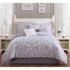 Studio17 Welford 7 Piece Reversible Comforter Set Size: Full/Queen