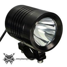 22,63€ - ENVÍO GRATIS - Faro Auxiliar LED Delantero Moto Quad 12V-24V 10W en Aluminio sin Cubierta Varios Colores