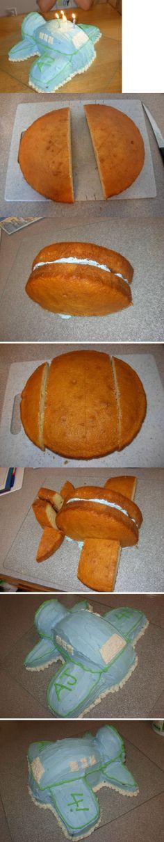 torta de avión