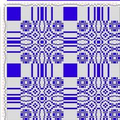 (Draft 320) draft image: Threading Draft from Divisional Profile, Tieup: An Album of Textile Designs, Thos. R. Ashenhurst, Draft #14932, 3S, 3T