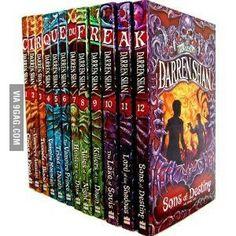 Cirque du freak books!