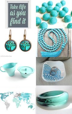 Turquoise travels by Kaz on Etsy--Pinned with TreasuryPin.com