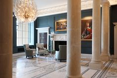 "The Langley, A Luxury Collection Hotel, Buckinghamshire. ""Right Light, Right Place, Right Time"" ™ Interior Lighting, Lighting Design, Langley Park, Lighting Control System, Luxury Collection Hotels, External Lighting, Country Hotel, Treatment Rooms"