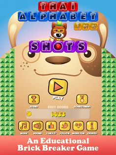 An Educational Brick Breaker Game Exclusively made for Android https://www.facebook.com/AkeApps/