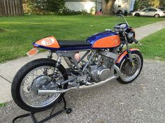 Suzuki T500 Cafe Racer by Shoemaker Vintage Moto LLC #motorcycles #caferacer #motos   caferacerpasion.com