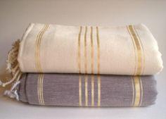 free shipping beige and black peshtemals turkish bath by 1001days