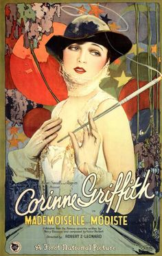 Mademoiselle Modiste movie poster, 1926