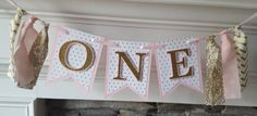 pink and gold first birthday * pink and gold birthday * pink and gold party * first birthday * high chair banner * pink and gold *gold heart Gold First Birthday, First Birthday Banners, Birthday Ideas, Heart Banner, Gold Party, Princess Birthday, Pink And Gold, First Birthdays, My Etsy Shop