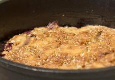 Dutch Oven Berry Cobbler   Food Storage Recipes  