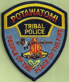 US State of Oklahoma, Potawatomi Tribal Police Department Patch San Antonio Police Academy, Police Uniforms, Police Badges, Farmington New Mexico, Osage Nation, Police Shield, Police Officer Wife, Tribal Theme, Law Enforcement Badges