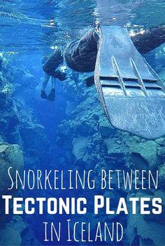Snorkeling Silfra in Iceland: