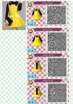 Girls winter dress with bow - Animal Crossing: New Leaf - dream code: 5200-6170-7463